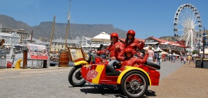 sidecar at the V&A Waterfront
